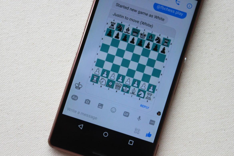 Jouer aux échecs sur smartphone Android