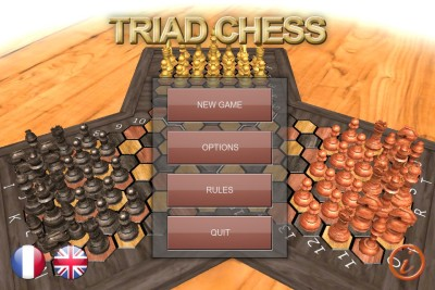 Triad Chess pour mobiles Android, iOS