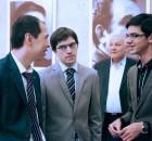 Maxime Vachier-Lagrave, Fabiano Caruana à Taschkent en 2014