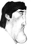 Caricature échecs Vladimir Kramnik