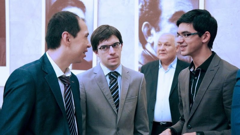 Maxime Vachier-Lagrave Grand Prix FIDE à Tashkent 2014