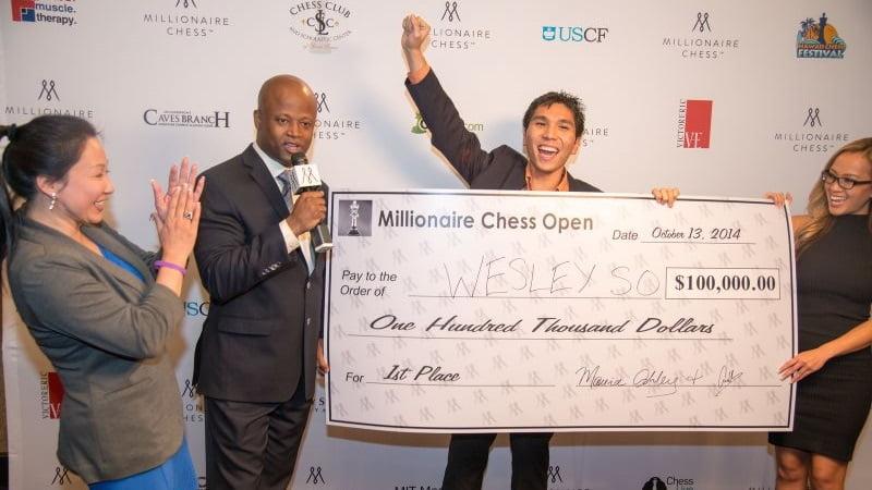 Wesley So vainqueur du Millionaire Chess 1