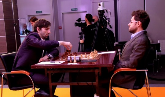 Alexander Grischuk et Levon Aronian au Mémorial Tigran Petrossian