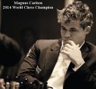 Magnus Carlsen Champion du Monde d'échecs 2014