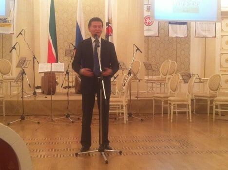 Le président de la FIDE Kirsan Ilyumzhinov