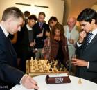 Michael Adams et Anish Giri à Londres