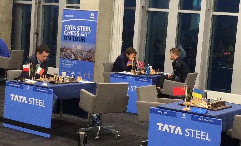 Tata Steel Chess 2015 Ronde 5