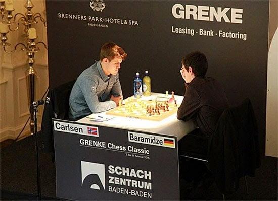 Grenke Chess Classic 2015 : Carlsen rit, Anand pleure