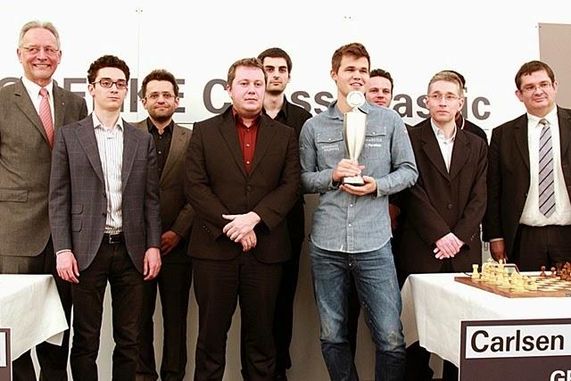 Grenke Chess Classic 2015 : Magnus Carlsen triomphe
