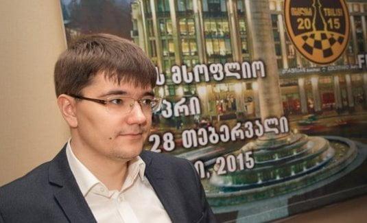 Grand Prix FIDE Ronde 4 Evgeny Tomashevsky