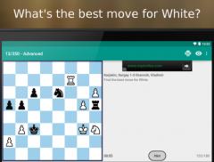 Puzzles échiquéens pour Android