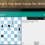 Diagramme Puzzle échecs sur Android