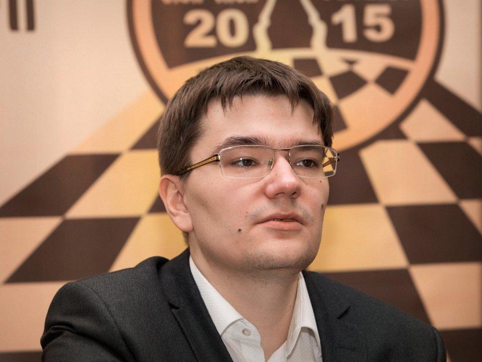 Grand Prix FIDE 2015 Tbilisi ronde 9 Evgeny Tomashevsky