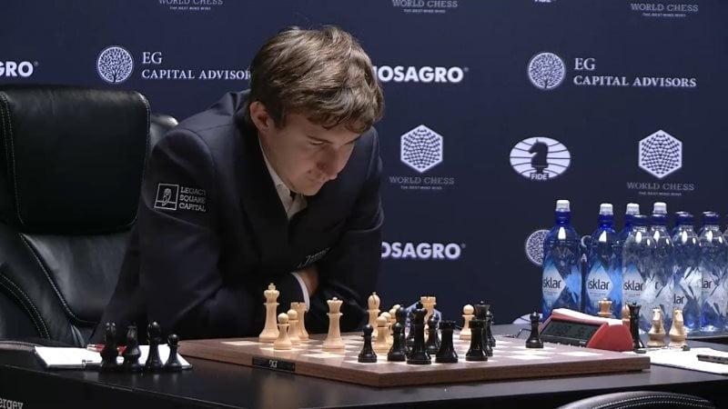 Carlsen Karjakin 2016 partie 11 coup 20