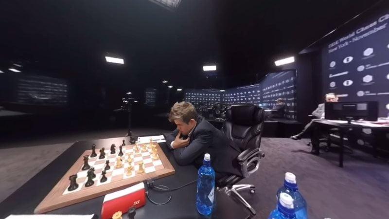Carlsen Karjakin 2016 partie 5 coup 18