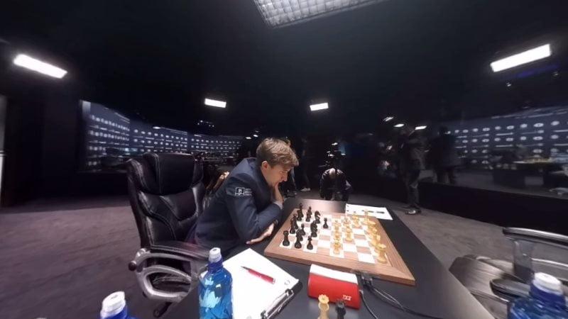 Carlsen Karjakin 2016 partie 5 coup 9