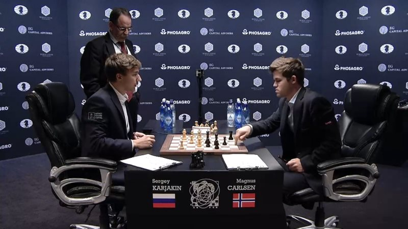 Carlsen Karjakin 2016 partie 7 fin de partie