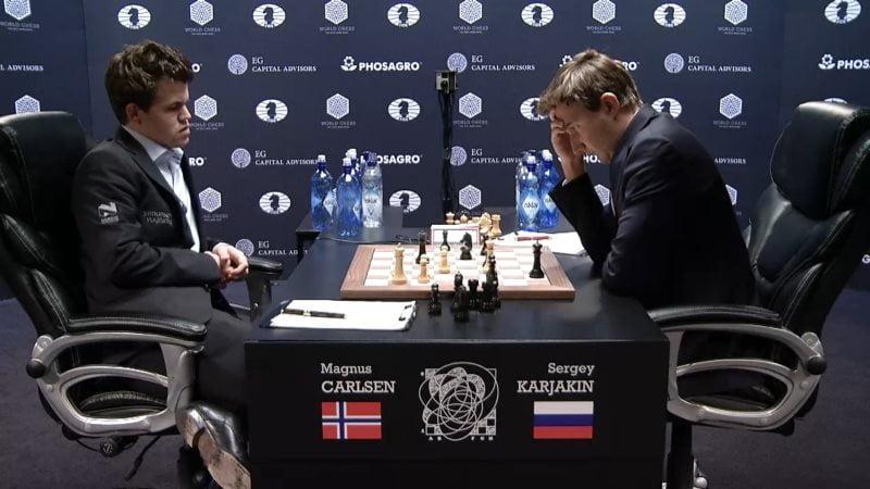 Carlsen Karjakin 2016 partie 8 coup 41