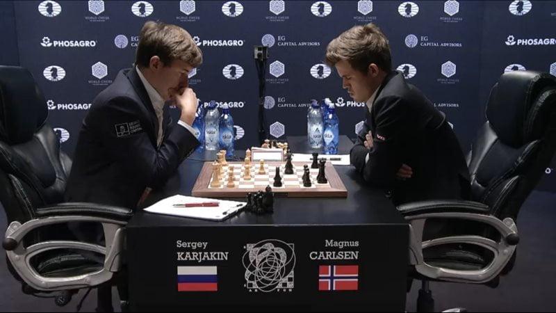 Carlsen Karjakin 2016 partie 9 coup 23
