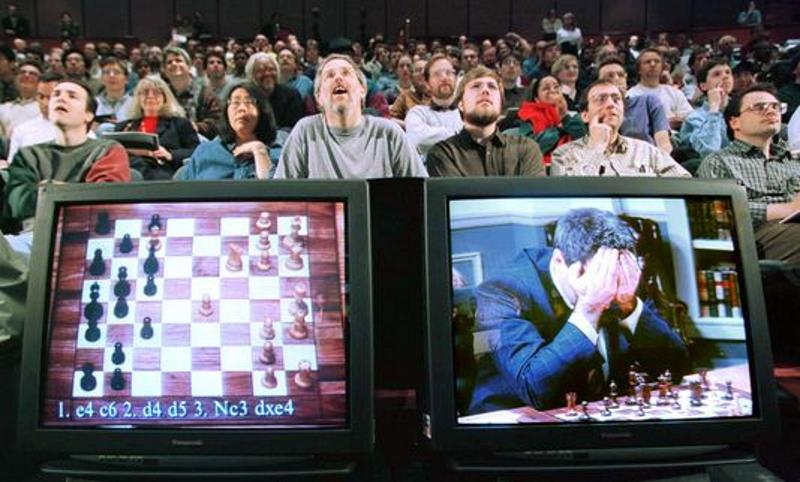 Les compétitions d'échecs en direct