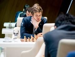 Shamkir Chess 2015 Ronde 5 - Magnus Carlsen prend la tête