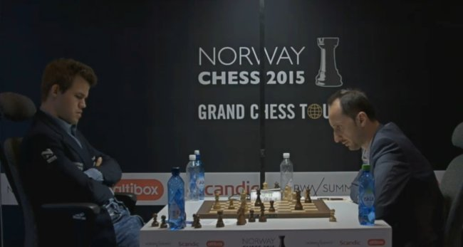 Norway Chess 2015 Ronde 1