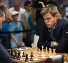 Sinquefield Cup 2015 Ronde 1 Magnus Carlsen