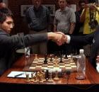 Sinquefield Cup Ronde 5 Wesley So et Magnus Carlsen