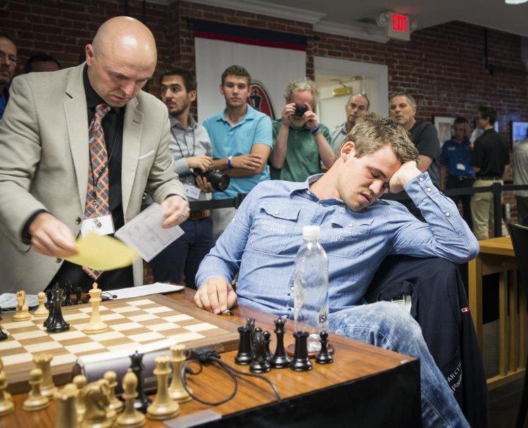 Sinquefield Cup Ronde 7 Magnus Carlsen