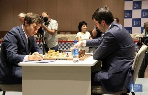 Finale Coupe du Monde FIDE 2015 : Peter Svidler et Sergey Karjakin