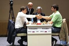Sergey Karjakin vainqueur de la Coupe du Monde FIDE 2015