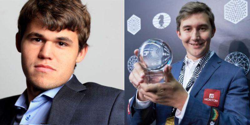 Championnat du Monde d'échecs 2016 Magnus Carlsen Sergey Karjakin