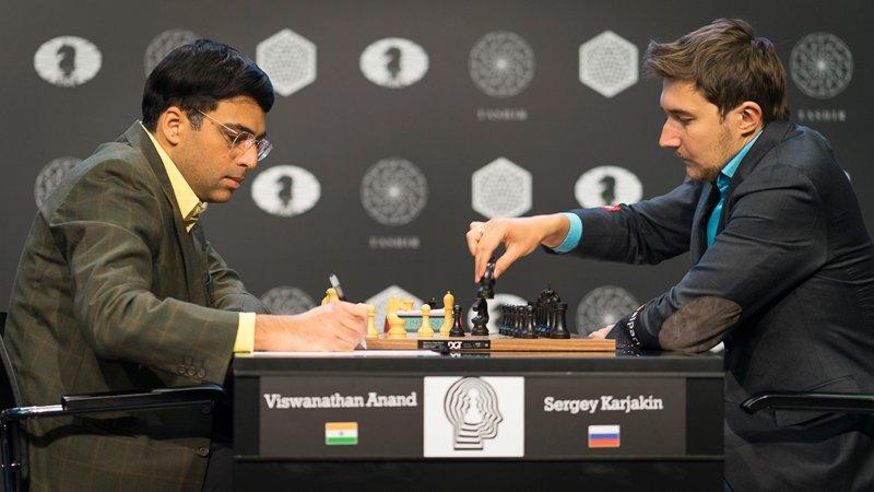 Tournoi des Candidats 2016 Ronde 11 Anand Karjakin