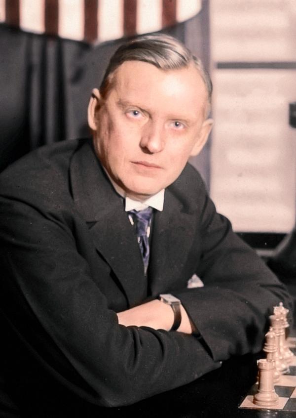Alexandre Alekhine en couleurs