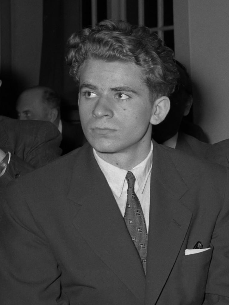 Boris Spassky Tournoi des Candidats en 1956 à Amsterdam