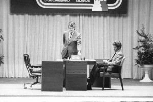 Boris Spassky à Reykjavik en 1972