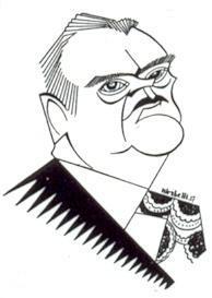 Caricature des échecs Alexandre Alekhine Revue Critica 1927