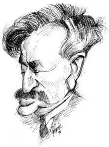 Caricature échecs Emanuel Lasker