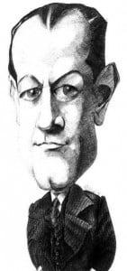 Caricature échecs Jose Raul Capablanca