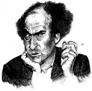 Caricature échecs Mikhail Tal