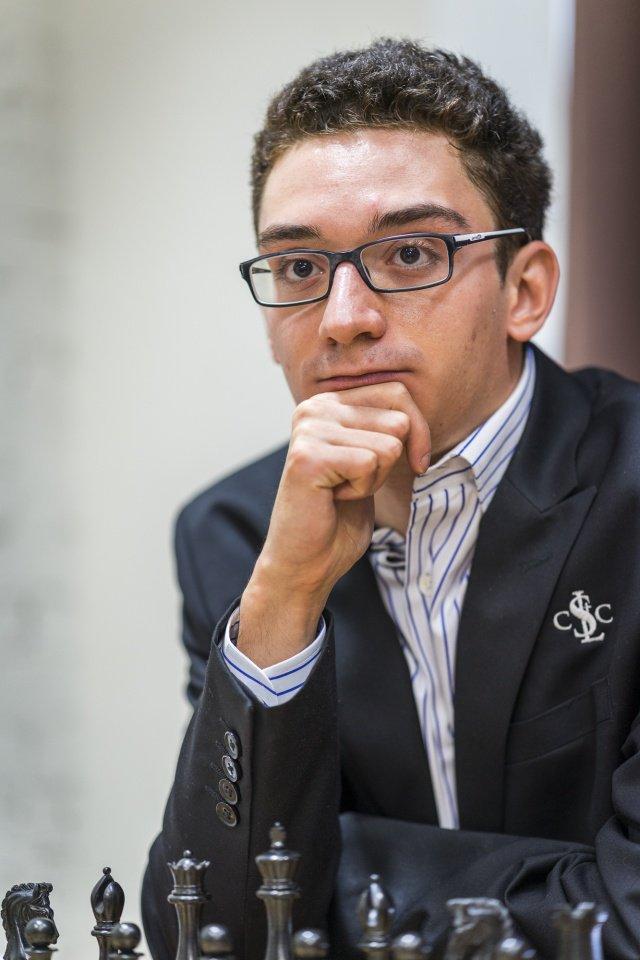 Fabiano Caruana Champion d'échecs des Etats-Unis 2016