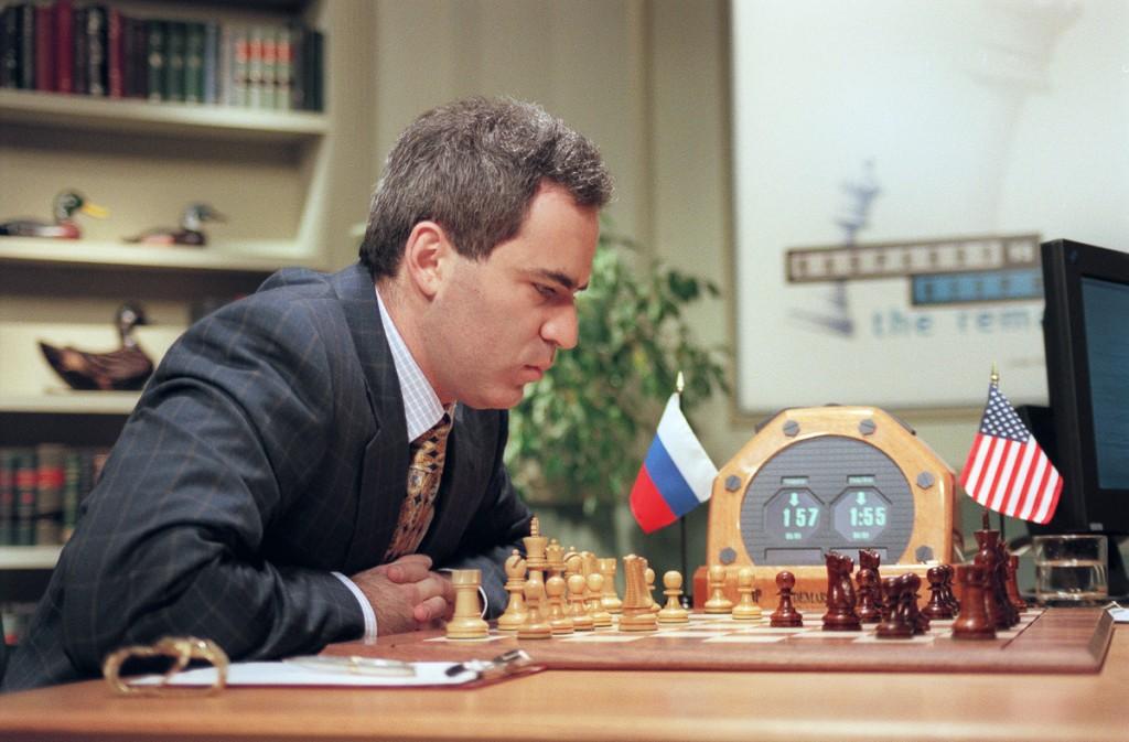 Garry Kasparov contre l'ordinateur IBM Deep Blue