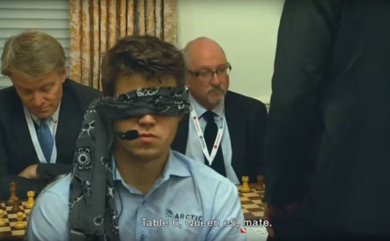 Magnus Carlsen un film documentaire en 2016