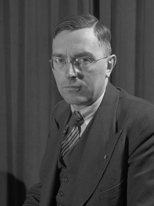 Max Euwe portrait le 16 novembre 1945