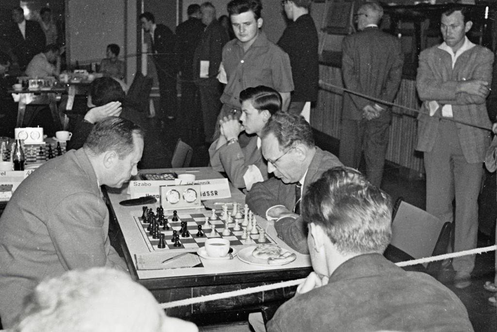Mikhail Botvinnik en 1961