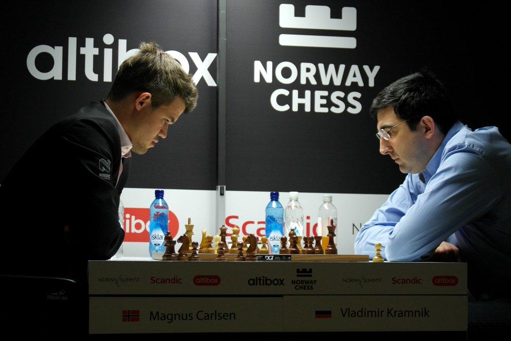 Blitz du Norway Chess 2016 Blitz Magnus Carlsen contre Vladimir Kramnik