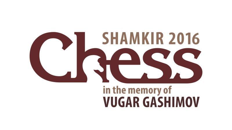 Shamkir Chess 2016 Vugar Gashimov Memorial Logo