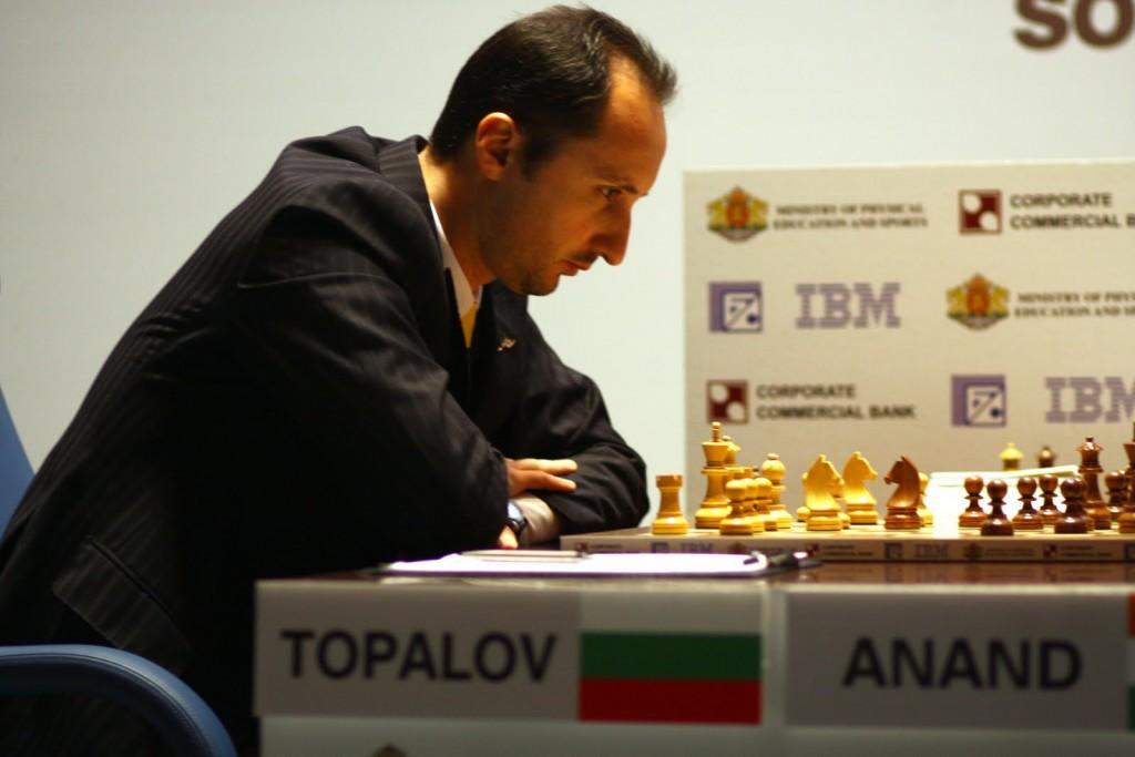 Veselin Topalov Match contre Viswanathan Anand en 2010