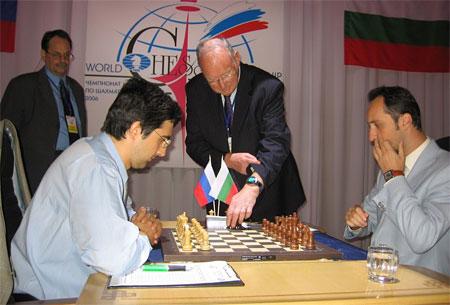 Veselin Topalov Match contre Vladimir Kramnik en 2006