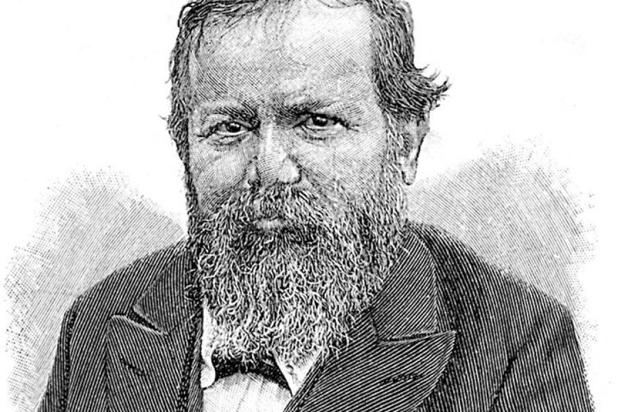 Wilhelm Steinitz Champion du Monde d'échecs